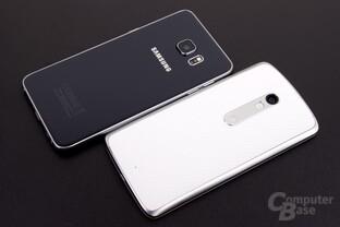 Motorola verzichtet bis auf das M auf jeglichen Aufdruck von Schriftzügen