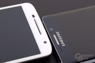 Das Galaxy S6 edge+ hat auf den ersten Blick keinen Displayrahmen