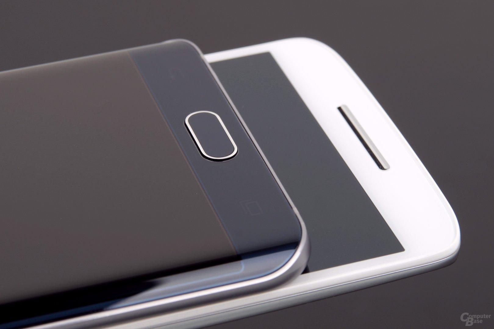 Motorola nutzt Software-Tasten für die Navigation