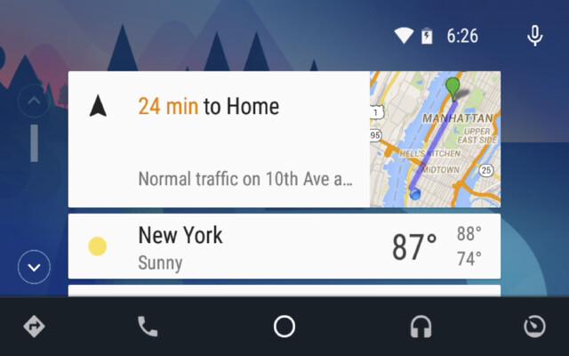 Android Auto Desktop Head Unit