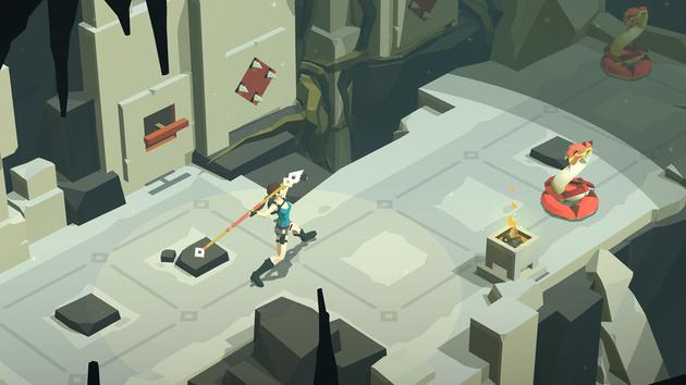 Lara Croft Go: Puzzel-Adventure für unterwegs erhältlich
