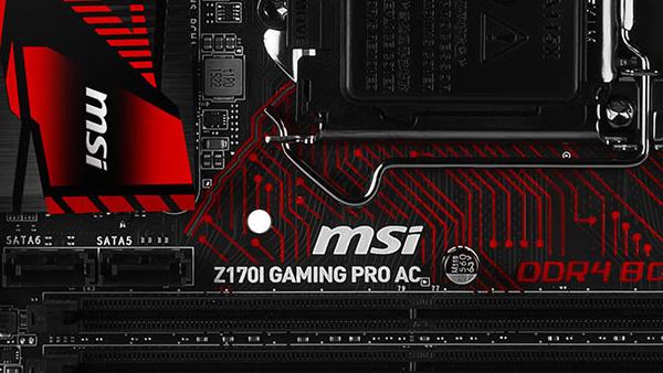 MSI Z170I Gaming Pro ac: Mini-ITX-Mainboard mit Intel-LAN für 175 Euro
