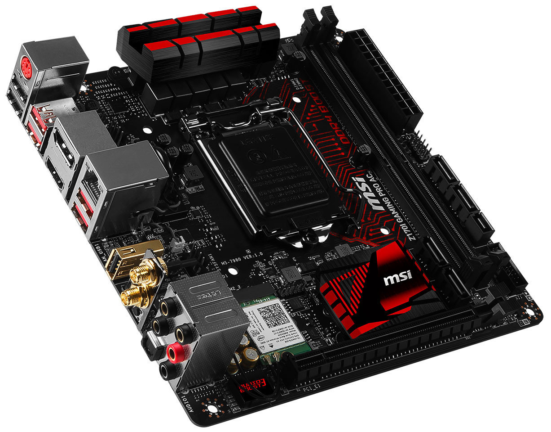 MSI Z170I Gaming Pro ac – Premium-Hauptplatine für Skylake-Prozessoren