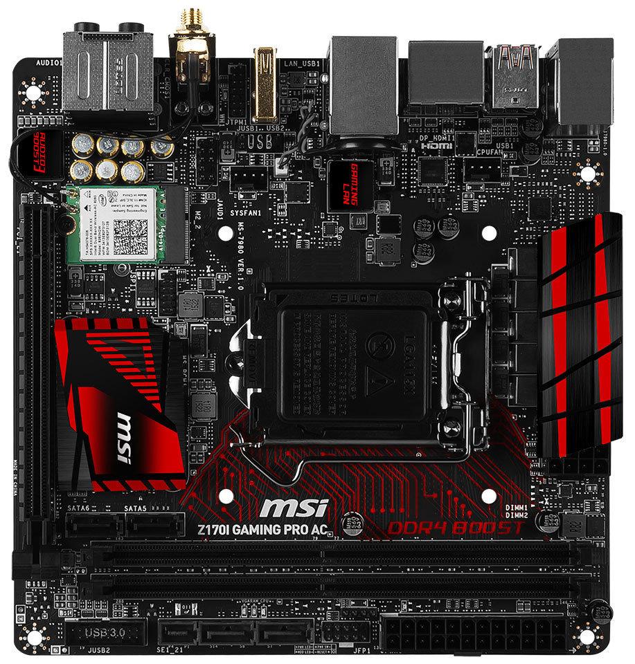 umfangreiche Ausstattung im kompakten Mini-ITX-Formfaktor
