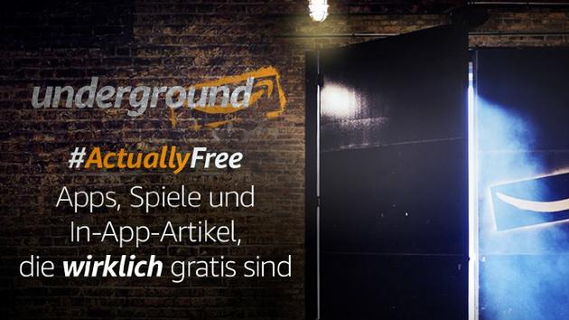 Underground: Amazon bezahlt Entwickler für kostenlose Apps pro Minute