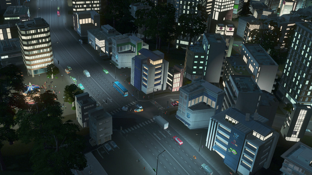 Cities: Skylines – After Dark: Erweiterung erscheint am 24. September