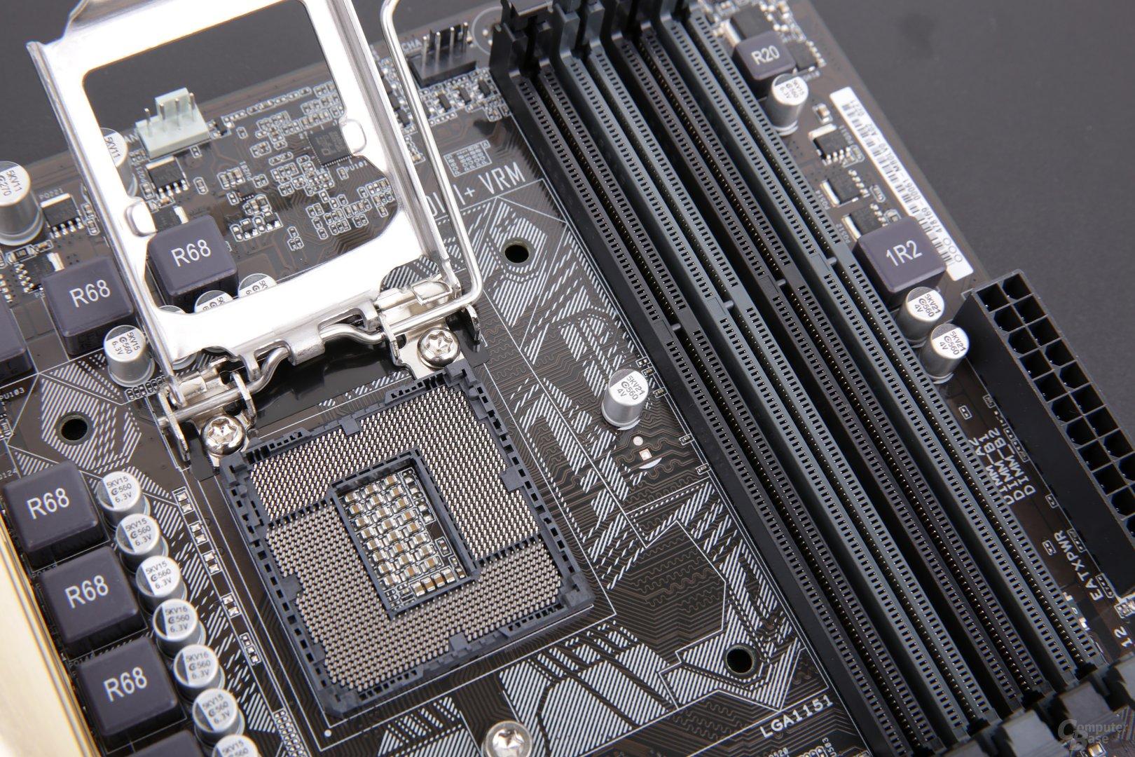 Asus-Mainboard für Skylake mit DDR3-Speicher