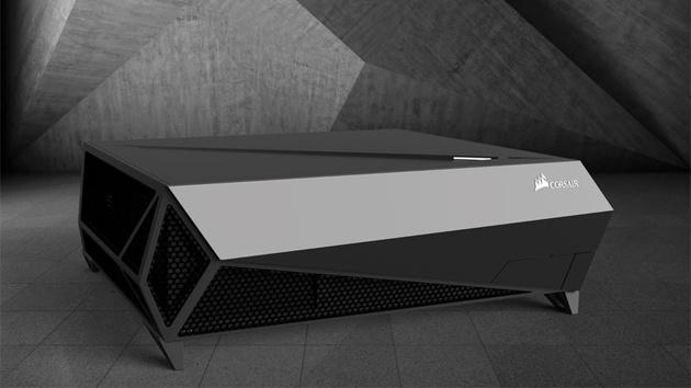 Corsair Bulldog: HTPC-Gehäuse für 4K-Hardware mit Netzteil und Kühler