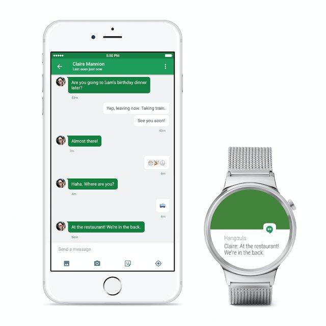 Android Wear für iOS
