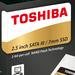 Toshiba Q300 (Pro): Neue SSDs mit SLC-Cache für Einsteiger und Profis