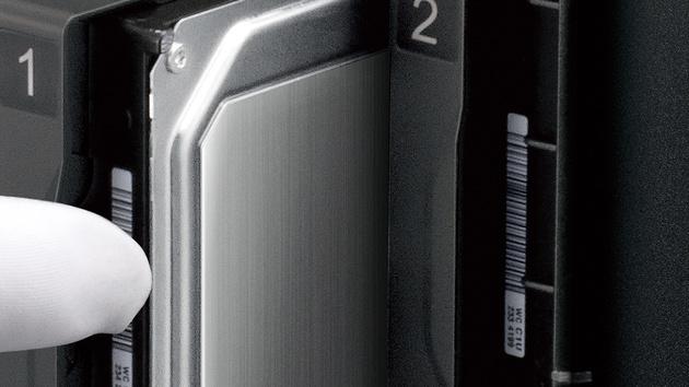Buffalo LS520D: 2-Bay-NAS mit Realtek-SoC und bis zu 8 TB