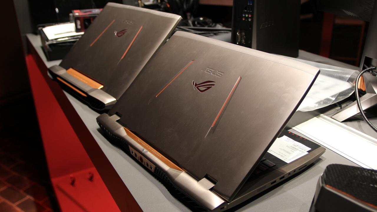 Asus GX700: Wassergekühltes Laptop mit 2.048-Shader-GPU von Nvidia