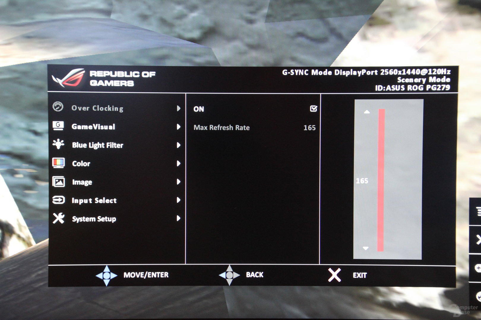 Asus PG279Q mit bis zu 165 Hz