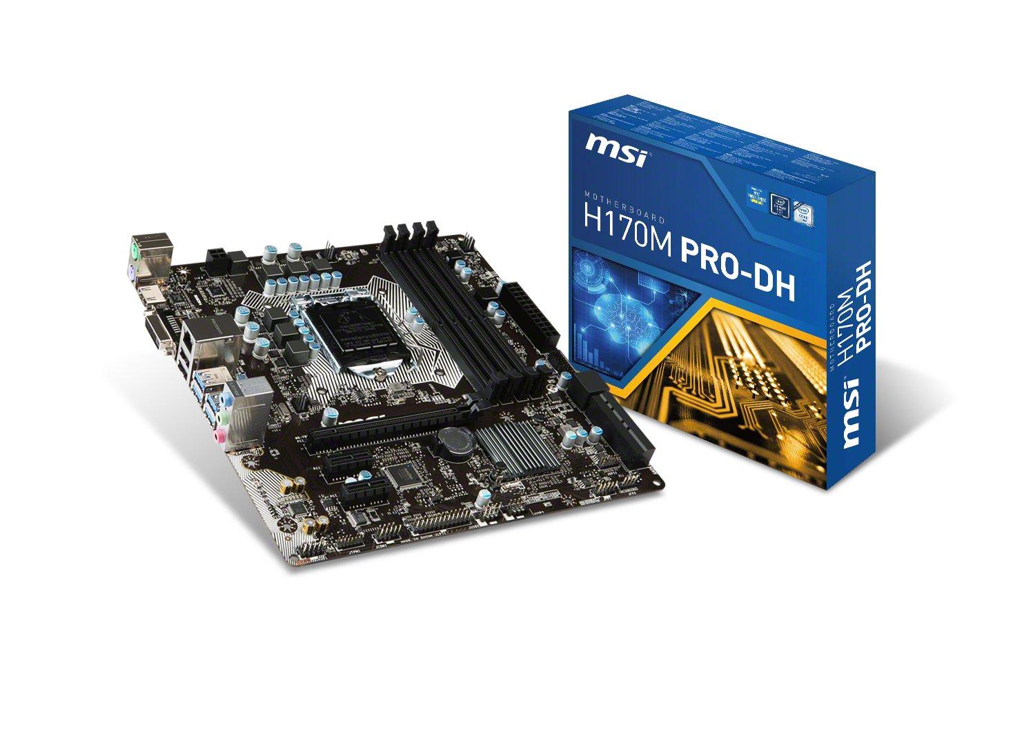 MSI H170M Pro-DH