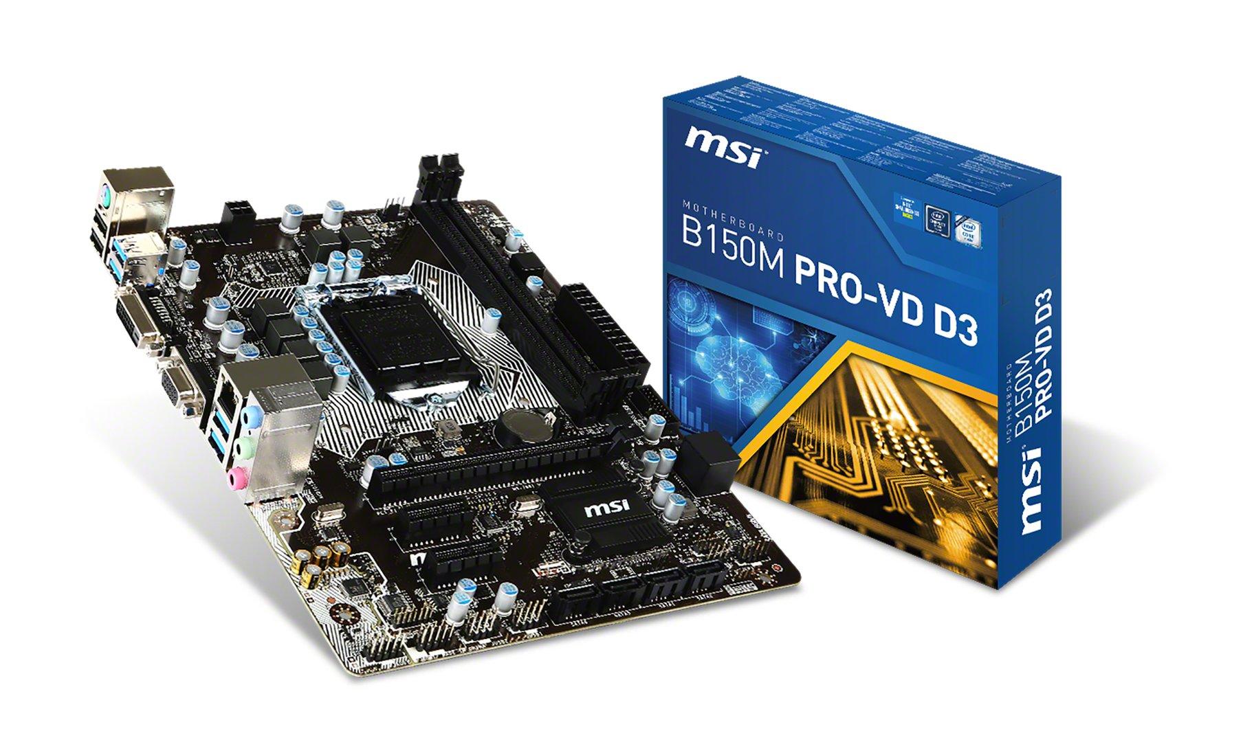 MSI B150M Pro-VD D3