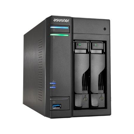 Netzwerkspeicher von Asustor für zwei HDDs mit maximal 6 TB