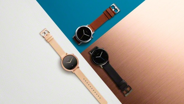 Moto 360: Neue Smartwatch in zwei Größen und für Sportler
