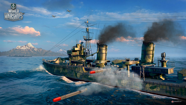 World of Warships (Screenshot)