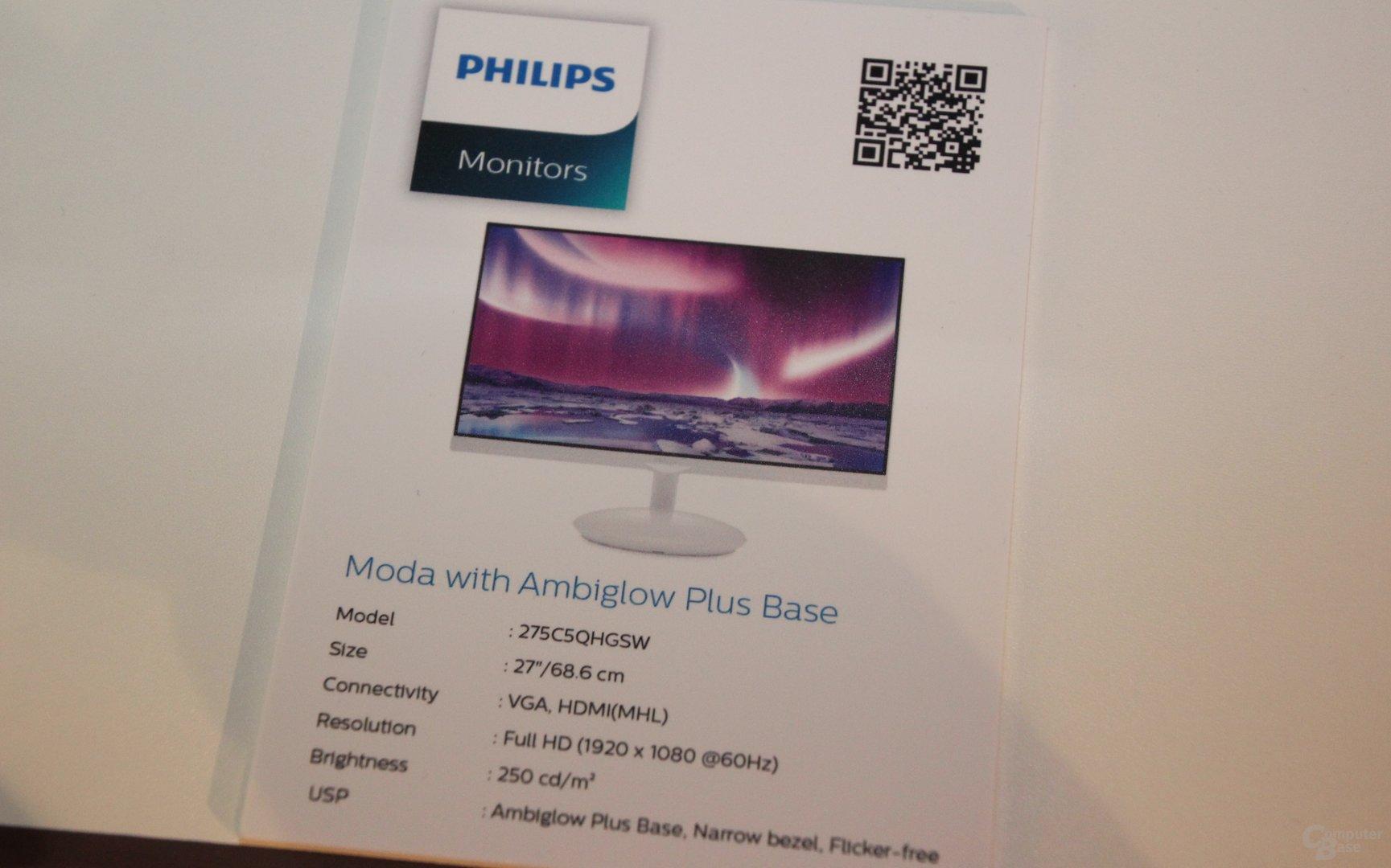 Philips Moda 275C5QHGSW