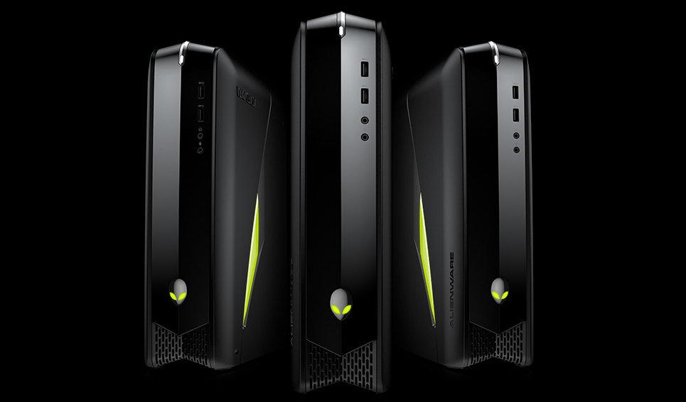 Optionale LED-Beleuchtung in konfigurierbaren Gaming-PCs von Alienware