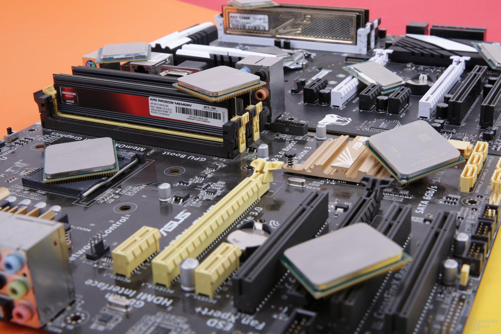 AMD-APUs und Intel-CPUs für LoL und co.