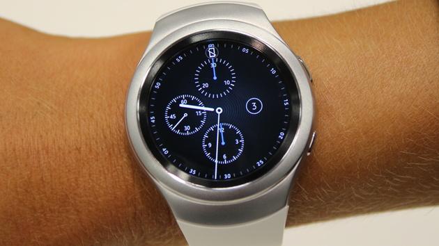 Gear S2 ausprobiert: Samsungs runde Smartwatch ist verdammt schnell