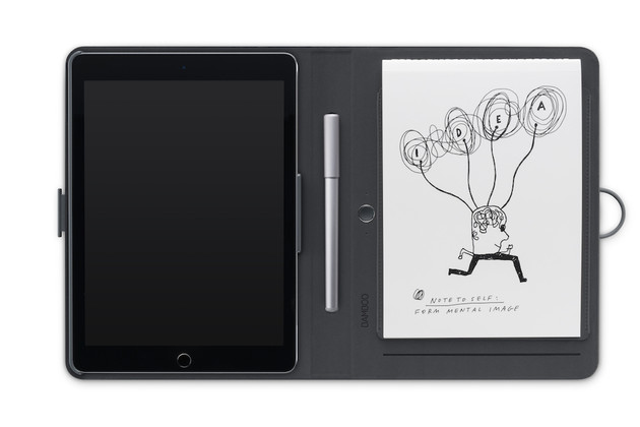 Wacom Bamboo Spark mit iPad
