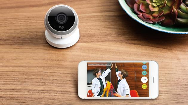 Logitech: Tragbare Kamera Logi Circle streamt aufs Smartphone