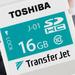 Toshiba TransferJet: 16-GB-SDHC-Karte mit Nahbereichskommunikation