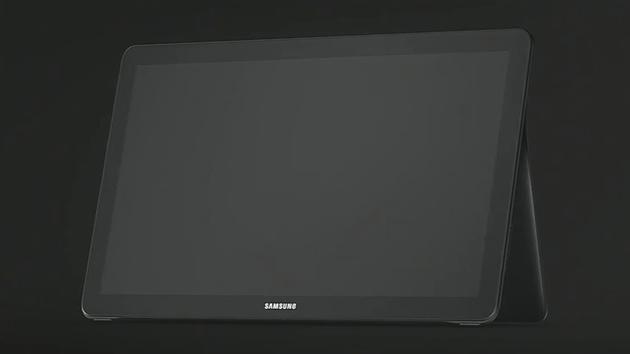 Galaxy View: Samsung zeigt kurz ein Tablet mit sehr großem Display