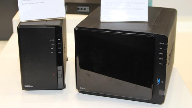 Synology DS216play und DS416: NAS für 4K-Transkodierung und Verschlüsselung