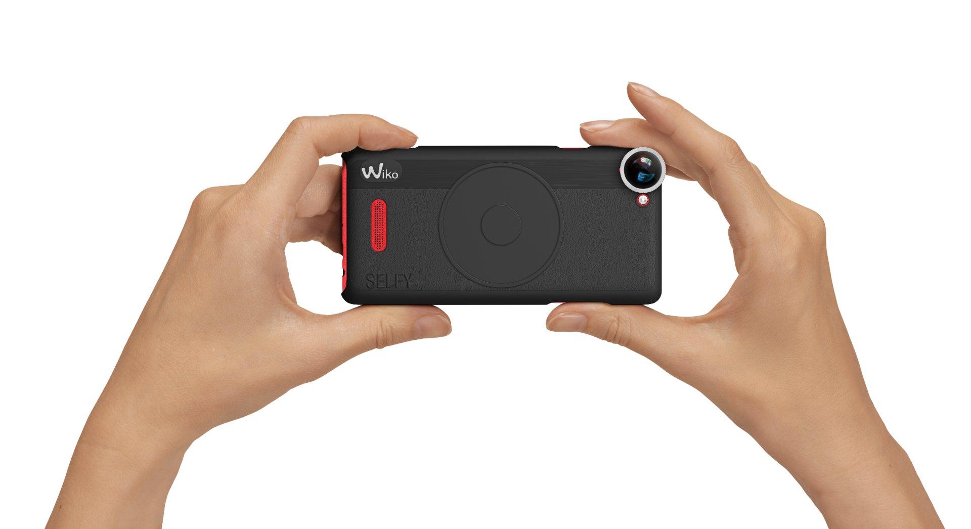Wiko Selfy 4G Fisheye-Objektiv