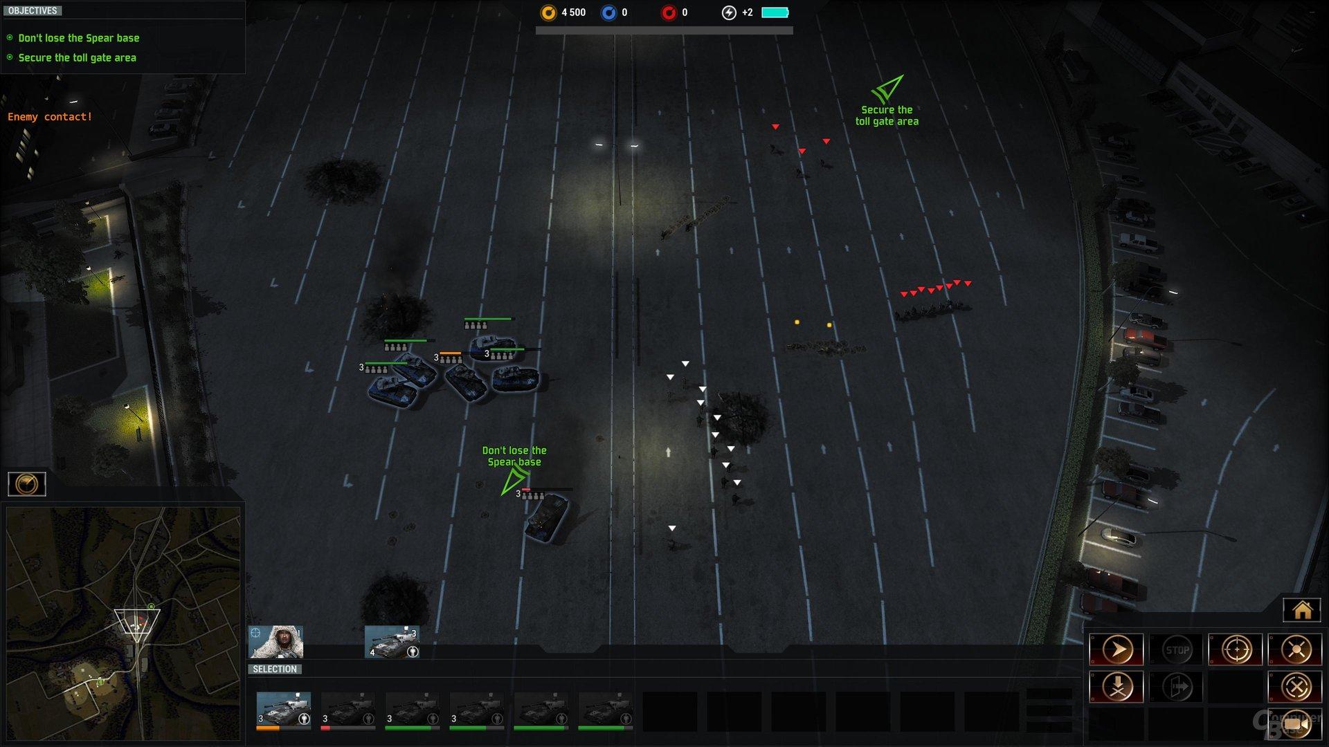 Die vergrößerte Gefechtsdistanz zwingt zu kleinem Zoom