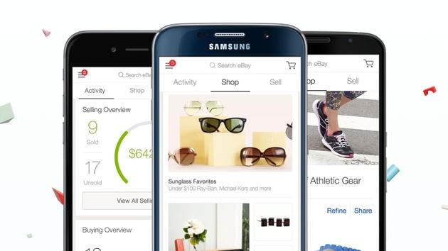 eBay 4.0: Einheitliches App-Design für Android und iOS