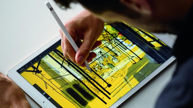 Apple: Das iPad Pro hat 12,9 Zoll und unterstützt Stylus und Tastatur