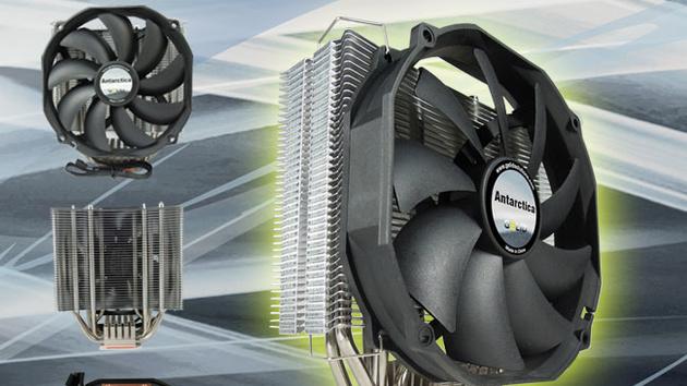 """Gelid Antarctica: Prozessorkühler mit """"Power Heatpipes"""" für 37 Euro"""