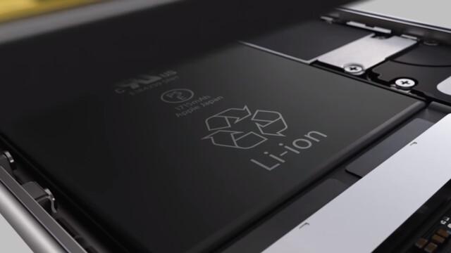Akku des iPhone 6s im Produktvideo