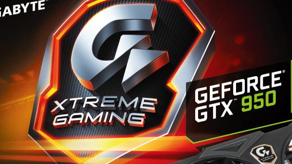 Gigabyte: Offensive für Spieler beginnt mit der GTX 950 Xtreme Gaming