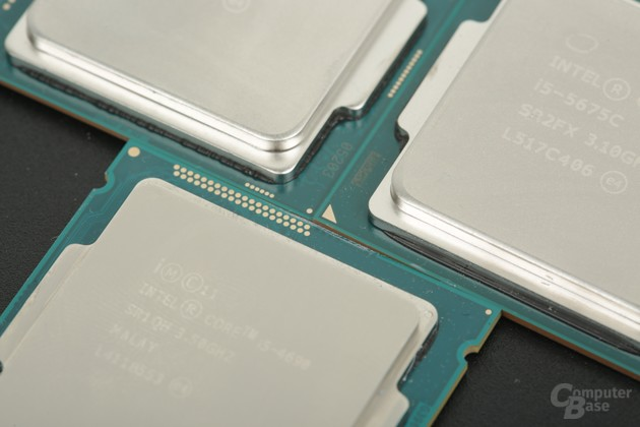 Intel Core i5-4690, 5675C und 6500 im Vergleich