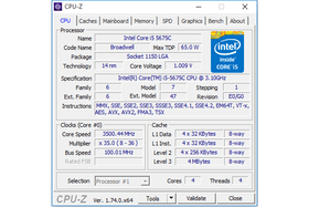 "Intel Core i5-5675C ""Broadwell"" undervolted"