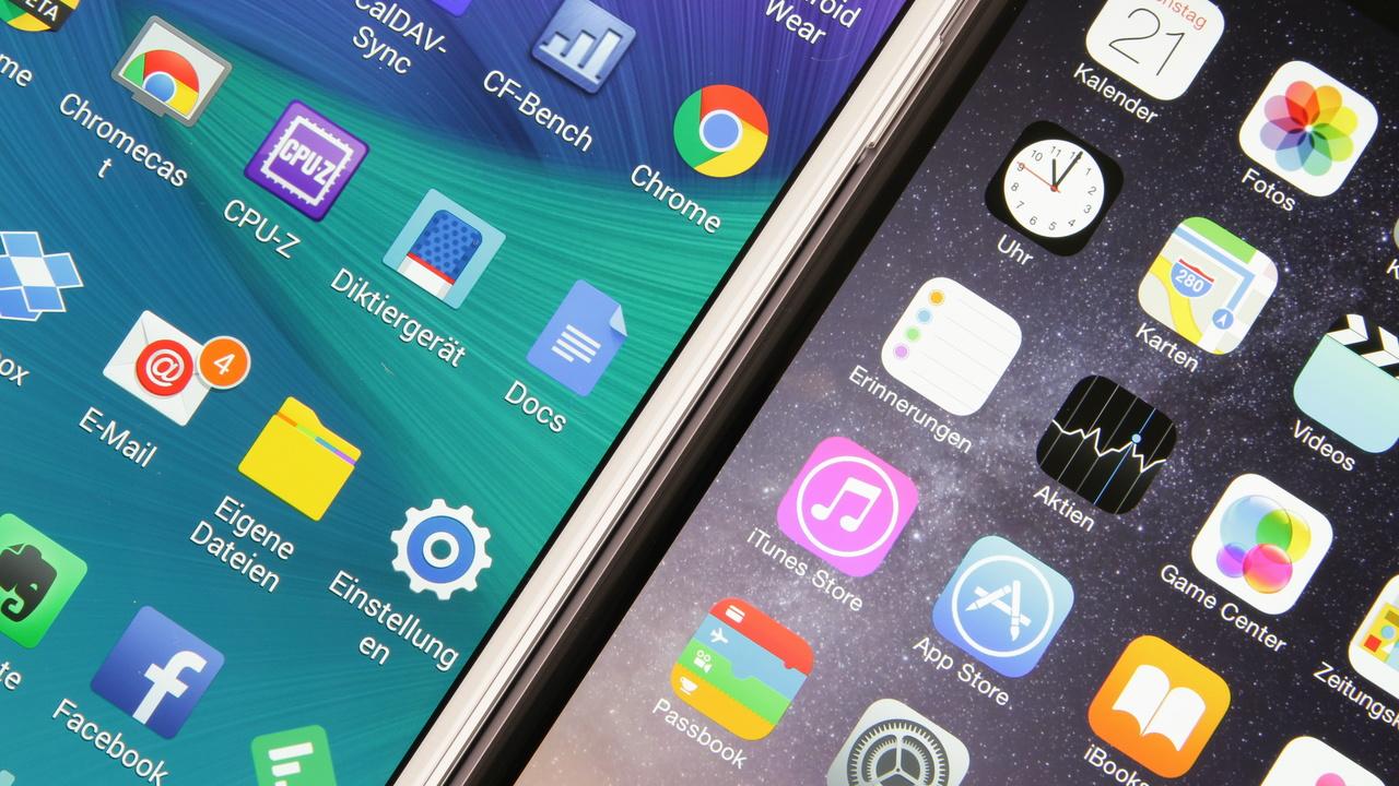 Smartphones und Tablets: Aufbau und Methodik