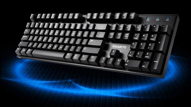 Gigabyte Force K83: Mechanische Tastatur mit freistehenden Tastern