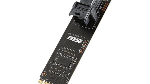 MSI: Turbo U.2 Host Card macht M.2 zur U.2-Schnittstelle