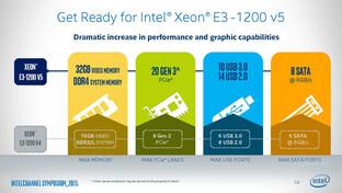 Vorzüge der Xeon E3-1200 v5 gegenüber v4