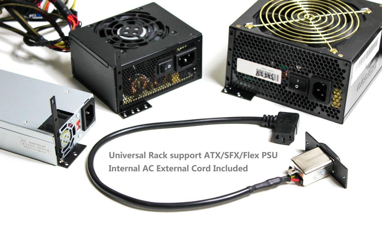 Das Hdplex H5.S unterstützt verschiedene Netzteilformate