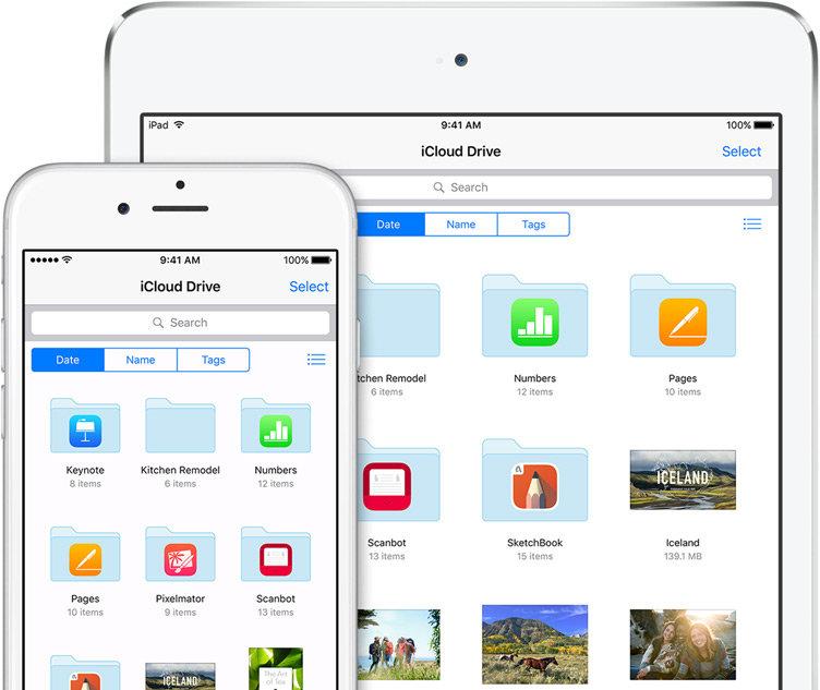 iCloud Drive App