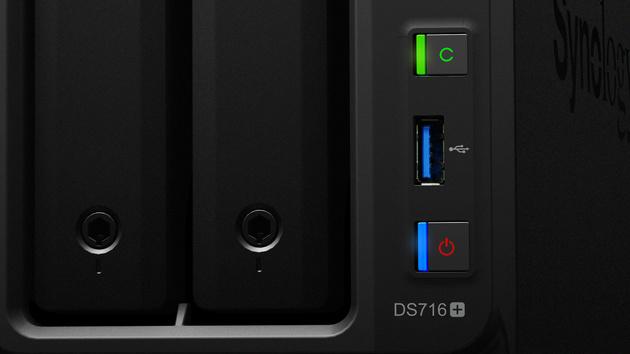 Synology DS716+: Braswell-SoC und 4K-Transkodierung im 2-Bay-NAS