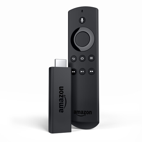 Fire TV Stick mit Sprachfernbedienung