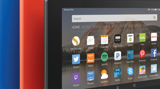 Fire: Amazons vier neue Tablets sind vor allem günstig