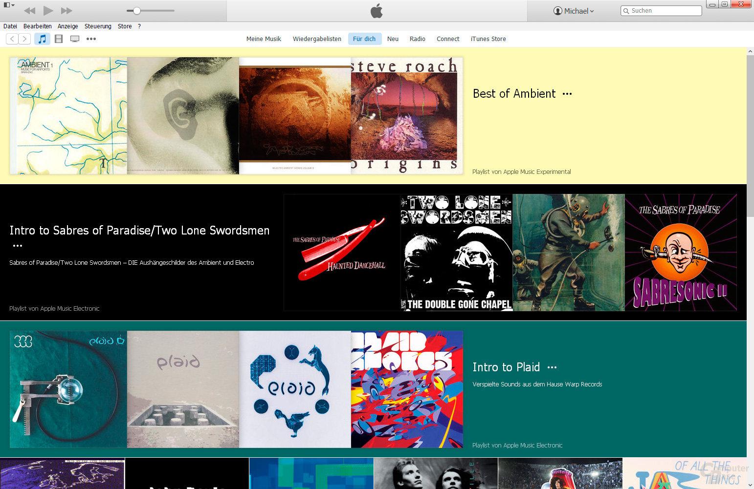 Apple Music per iTunes